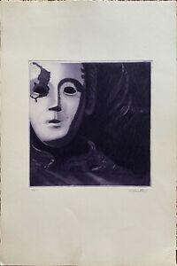 Franco Mulas incisione a colori Para Espana 60x40 firmata numerata  100+XX 1976