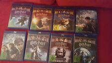 Harry Potter alle Kinofilme auf Blu-Ray (8 Blu-Rays - NEUWERTIG) TOP
