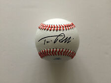 TIM ROBBINS AUTHENTIC SIGNED BASEBALL AFTAL & UACC [14395] OBTAINED IN PERSON