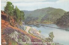 A Glimpse of Loch Beneveian Glen Affaric AJ198 J B White - Dundee