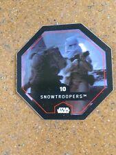 Star wars JETON LECLERC COSMIC SHELL 2015 n° 10 SNOWTROOPERS