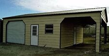 20' X 36' X 9' COMBO Carport & Garage FREE INSTALL. NATION-WIDE!!! (prices vary)