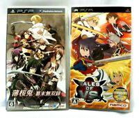 PSP Japanese Game Lot Hakuouki Bakumatsu Musou Roku Tales Of VS COMPLETE Sony