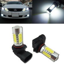 2pcs 7.5W Xenon White 9006 HB4 6000K COB LED Projector Bulbs Driving Fog Lights