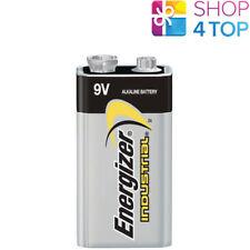 1 ENERGIZER ALKALINE 6LR61 BATTERY 9V INDUSTRIAL E BLOCK 6AM6 MN1604 EN22 NEW