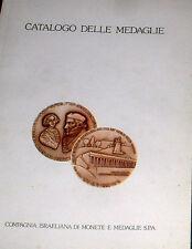 """MEDALLAS """" CATALOGO DELLE MEDAGLIE """" Compagnia Israeliana di monete e medaglie"""