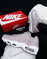 12 WOMEN S NIKE AIR MAX 95 SE SHINE GLITTER AT0068 600 Particle Rose PINK  PURPLE 003722d693ac