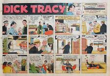 Dick Tracy by Chester Gould - large half-page color Sunday comic - Oct. 18, 1959