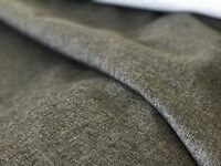 Grey textured chenille upholstery fabric upholstery caravan sofa etc