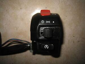 GZ 250 Marauder Schalteinheit Kombi Lenker schalter RECHTS Licht switch handle