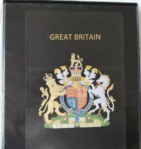 Great Britain Stamp Album Vol 1 New For 2021