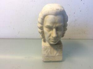 Buste en pierre de Bach musique art