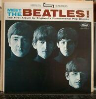 MEET THE BEATLES -vinile LP 33 giri ristampa del 1978 - nuovo ST 2047 LABELViola