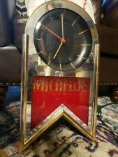 """Vintage 1993 Michelob Beer lighted clock sign. 20""""H x 11""""W"""