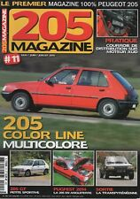 205 MAGAZINE 11 PEUGEOT 205 GT 205 COLOR LINE PUGFEST 2014 COURROIE DISTRIBUTION