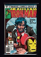 Iron Man #128 (NM) - Demon in a Bottle - Iconic alcoholism cover - Avengers