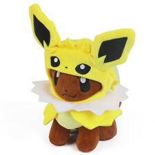 Pokemon Center Eevee Poncho Jolteon Cape Plush Doll Stuffed Figure Toy 7 inch