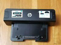 HP EliteBook Laptop Docking Station