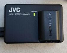 JVC AA-VG1 BATTERY CHARGER FOR BN-VG107U,BN-VG108U, PLUS ONE BN-VG107U BATTERY.