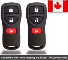 2x New Replacement Keyless Entry Remote Control Key Fob For Nissan KBRASTU15