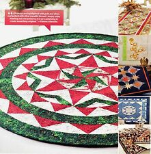 Christmas in the Round  And A Group Total  Of 6     (Quilt Pattern Only)