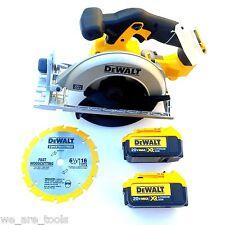 New Dewalt DCS391 20V Cordless Circular Saw,(2) DCB204 4.0 Batteries Max 20 Volt
