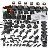 Bausteine Kinder Militär Soldaten Waffen Ausrüstung Krieg Polizei Toy Gift 6PCS