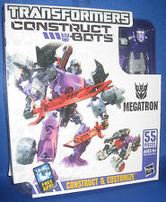 HASBRO TRANSFORMERS CONSTRUCT BOTS MEGATRON 55PC COLLECTOR FIGURE, NRFB