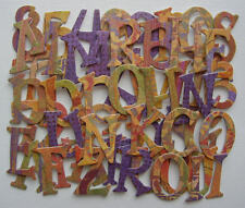 Basic Grey *FUSiON* Chipboard Alphabet Letters ~*New*~