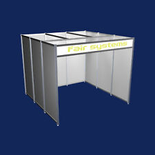Messestand Messebausystem  Reihenstand System-Messebau 300 x 300 cm Modul 1
