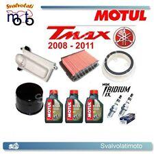 KIT TAGLIANDO TMAX 2009 3 LITRI MOTUL 5100 + FILTRI ARIA + FILTRO OLIO + IRIDIUM