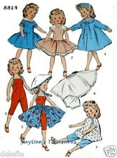 8814 Vintage Doll Clothes Pattern Revlon 10.5 inch