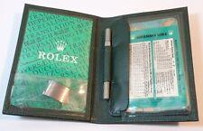 ROLEX SEADWELLER TOOL SEA DWELLER LINK CALENDAR 1995 1996 Wallet 1980's 16660 #7