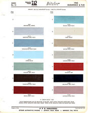 1963 OLDSMOBILE CUTLASS SUPER DYNAMIC 88 F-85 HOLIDAY 63 PAINT CHIPS DITZLER 5