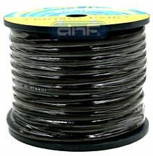 2 Gauge 100% OFC Black SeeThrough PowerCable 19.6 Feet - FREE SAME DAY SHIPPING!