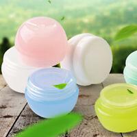 5 x Portable Empty Cosmetic Jar Pot Cream Lip Container Makeup Bottle Box Travel