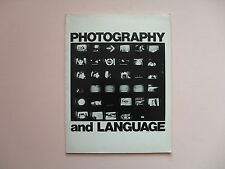 Photography and Language - Camerawork Press, SF, 1977 - Scarce First Edition