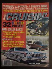 Street Cruisin' Magazine December 1977 Pontiac Trans AM Olds 442 Buick Turbo AZ