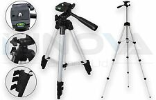 Flexible Portable Aluminum Tripod Stand For Canon Nikon DSLR Camera 105cm Height