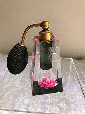 Vintage Jane Art Lucite Perfume Bottle