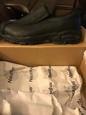 Nautilus Safety Shoe Steel Toe Size 9 Black