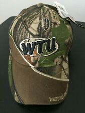 NWT Real Tree Whitetails Unlimited Brown/Camouflage Adjustable Cap Hat