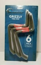 "AMERISTEP GRIZZLY TREE STEP 6-Pack with a 4"" step area # ASTS-104 Loc#EB92"