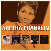 ARETHA FRANKLIN - 5xCD BOX SET - ORIGINAL ALBUM SERIES *NEW*