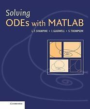 NEW - Solving ODEs with MATLAB