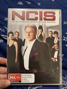 NCIS The Fifth Season 3 Series Five DVD Region 4