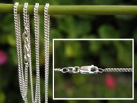 """1.2mm CURB Chain (16"""" 40cm - 24"""" 60cm) - 925 SOLID Sterling Silver"""