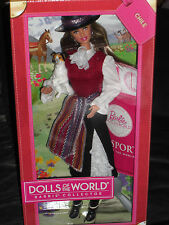 2011 PINK LABEL PASSPORT DOLLS OF THE WORLD - CHILE BARBIE!!