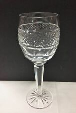 "TIPPERARY ""BRISTOL"" WINE GLASS 8 1/8"" CUT CRYSTAL NEW MADE IN IRELAND"