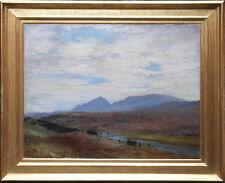 JOSEPH FARQUHARSON SCOTTISH LANDSCAPE OIL PAINTING ART FINZEAN RA 1846-1935